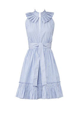 Blue Striped Briley Dress by Alexis