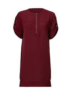 Burgundy Frank Dress by BCBGMAXAZRIA