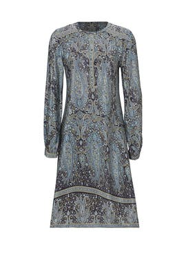 Blue Paisley Dress by CALYPSO St. Barth
