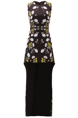 Queen Anne's Lace High-Low Dress by Cynthia Rowley