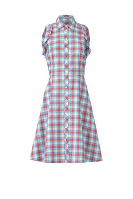 Madras Poplin Shirtdress by kate spade new york