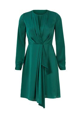 Green Addison Dress by Shoshanna