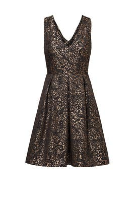 Gold Garland Paisley Dress by Slate & Willow