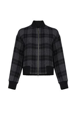 Plaid Bomber by VINCE.