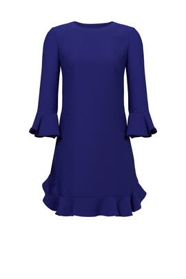 Blue Ruffle Flounce Dress by kate spade new york