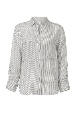 Mini Stripe Button Down Top by TART Collections