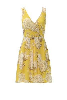 Canary Hydrangea Dress by Trina Turk