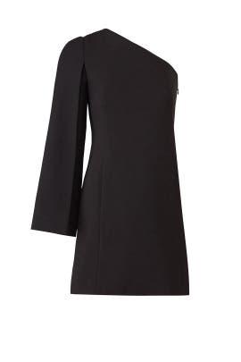 Onyx One Sleeve Dress by KAUFMANFRANCO