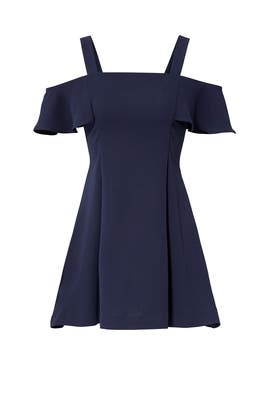 Navy Bellamy Dress by LIKELY