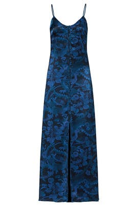 Blue Floral Kimono Maxi by Elizabeth and James