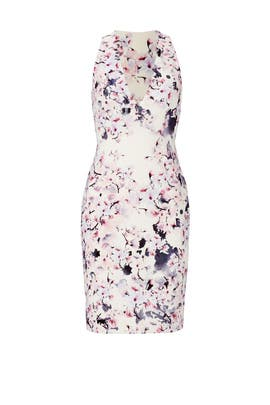 Pink Floral Bloom Dress by GABRIELA CADENA