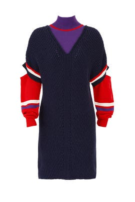 Pickoff Sweater Dress by PINKO