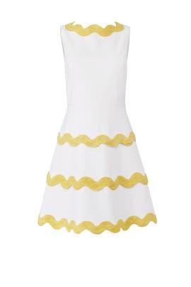 White Ric Rac Dress by Sail to Sable