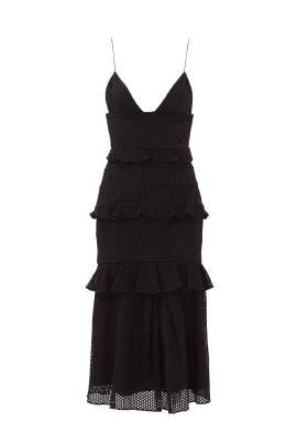 Black Eyelet Sofia Dress by Cushnie Et Ochs