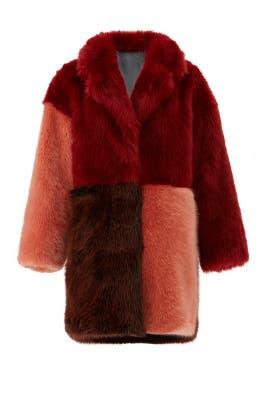 Faux Fur I Mean Business Coat by Heurueh