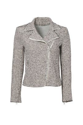 Structured Stretch Tweed Jacket by Rebecca Taylor