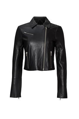 Black Gigi Biker Jacket by Elizabeth and James