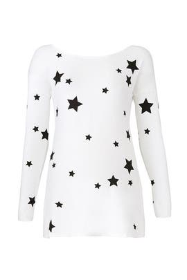 White Rosie Maternity Top by Isabella Oliver
