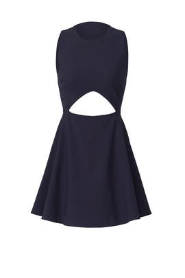 Navy Abella Dress by Elizabeth and James