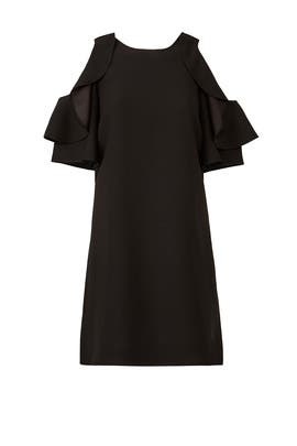 Black Cold Shoulder Dress by kate spade new york