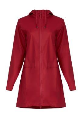 Scarlett Red Coat by RAINS