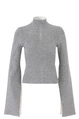 Silver Dexel Top by Solace London
