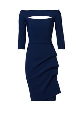 Navy Kate Sheath by La Petite Robe di Chiara Boni
