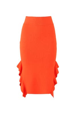 Side Flounce Skirt by Opening Ceremony