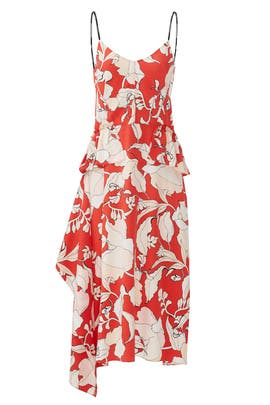 Flamenco Peplum Dress by 10 CROSBY DEREK LAM