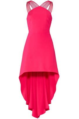 Fuchsia Rose Dress by Halston Heritage