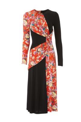 Lugu Sash Dress by Prabal Gurung