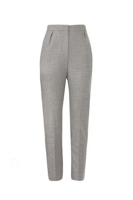Pale Grey City Pants by Theory
