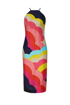 Rainbow Vina Dress by Trina Turk