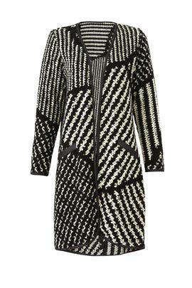Contrast Holly Sweater Coat by Waverly Grey