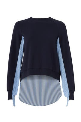 Combo Midnight Sweater by Derek Lam 10 Crosby