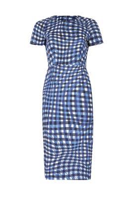 Kaleigh Blue Dress by L.K. Bennett