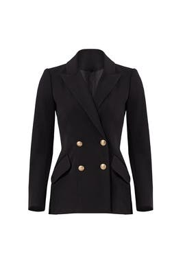 Black Breasted Blazer by Derek Lam 10 Crosby