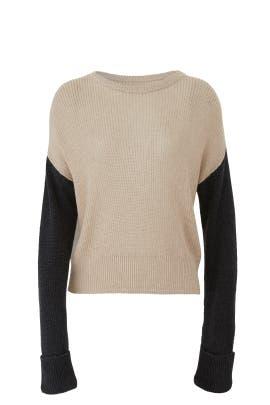Oatmeal Calico Sweater by Splendid