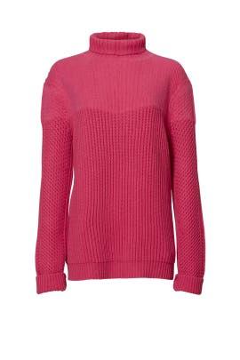 Pink Jayleen Sweater by Diane von Furstenberg