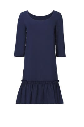 Navy Florence Dress by Paper Crown