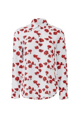 Floral Leema Button Down by Equipment