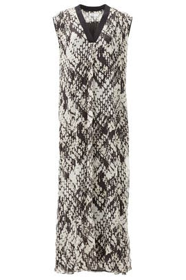 Basketweave Print Maxi by VINCE.