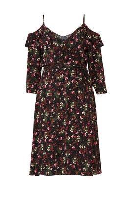 Pretty Floral Dress by City Chic