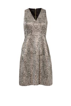 Metallic Debbie Dress by ERIN erin fetherston