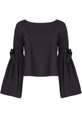 Bell Sleeve Tie Top by Free People