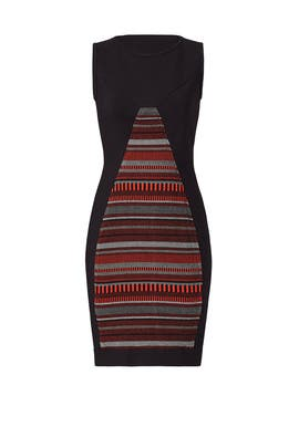 French Rail Knit Dress by Yoana Baraschi