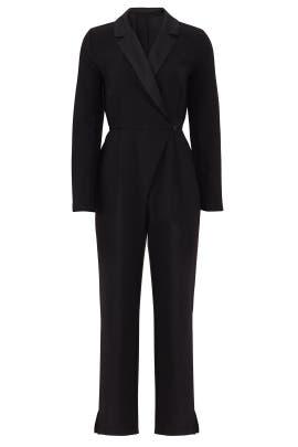 Reagan Tuxedo Jumpsuit by Greylin