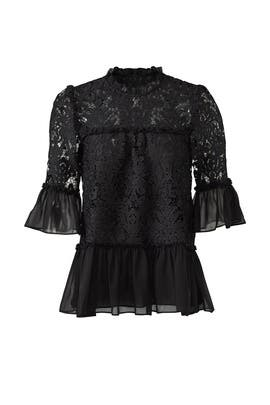 Tapestry Lace Top by kate spade new york