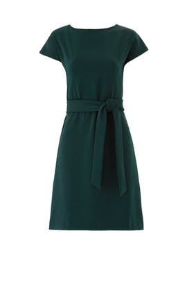Green Riverside Dress by Of Mercer