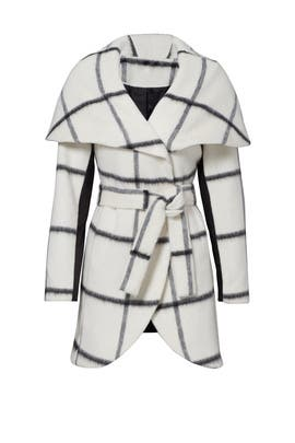 White Sammy Coat by Waverly Grey